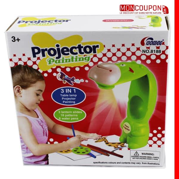 jouets ducatifs peinture et dessin projecteur planche dessin pour enfant copie. Black Bedroom Furniture Sets. Home Design Ideas
