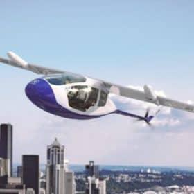 شركة رولز رويس تهبط أول تاكسي طائر
