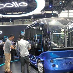 حافلات صينية جديدة من غير فولون و من غير سائق