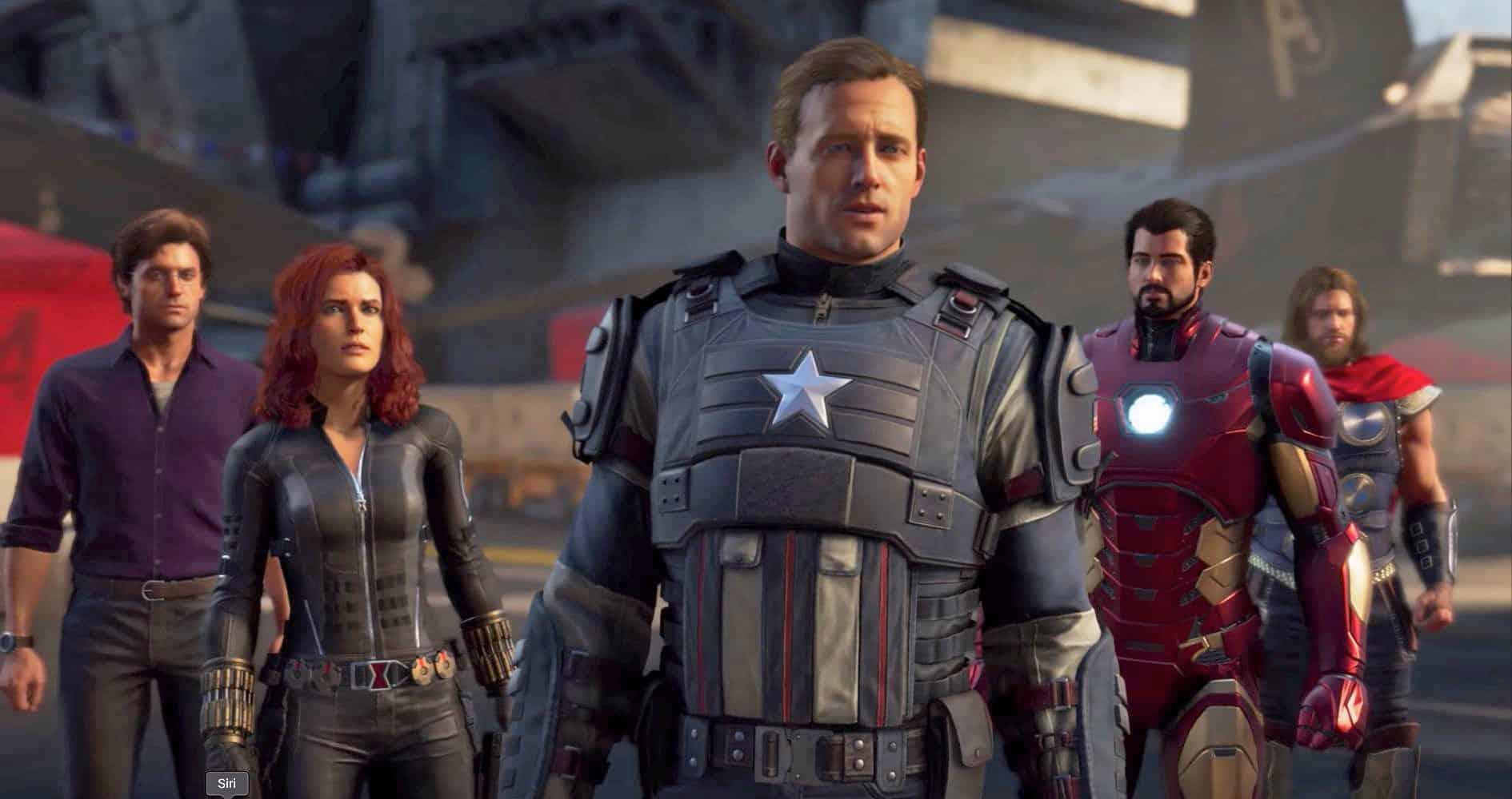 :Marvel's Avengers لعبة